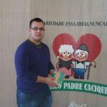 2015 - Doação Alimento ao Asilo Padre Cacique do Curso Beneficente Perfil da Liderança
